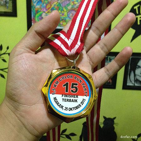 Medali Color Run Party