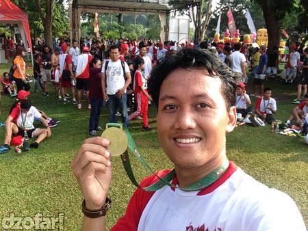 Selfie medali lagi