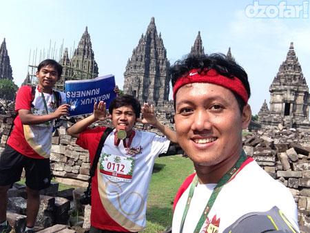 Selfie Prambanan