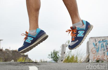 Sepatu New Balance 574 Wide 2E