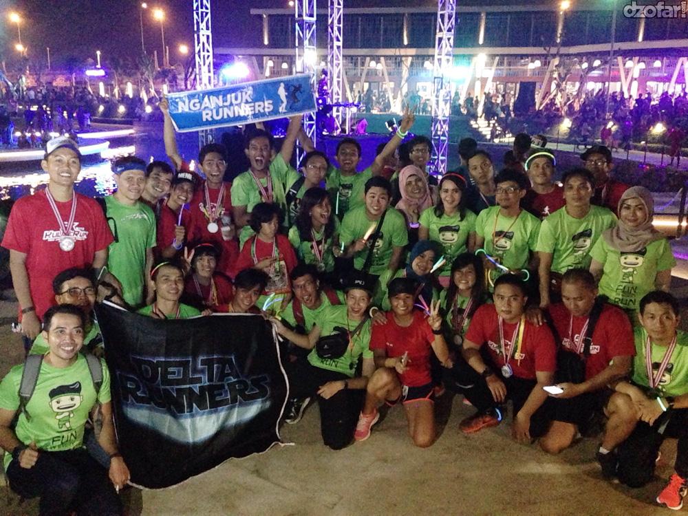 Bersama delta runners dan kendos
