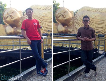 Budha bersama ndop dan arif