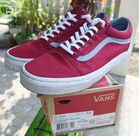 Vans Old Skool (T&C) Biking Red