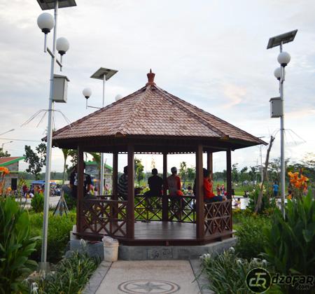 Gazebo Taman Pandan Wilis