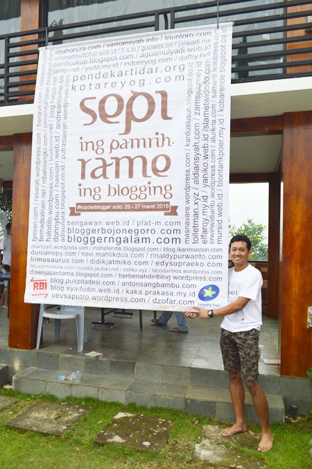 Ndop dan Banner Kopdar Blogger