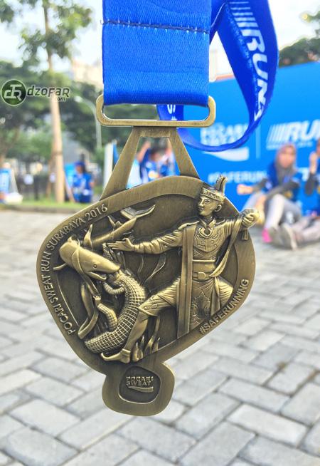 Pocari Run 2016 Medals!
