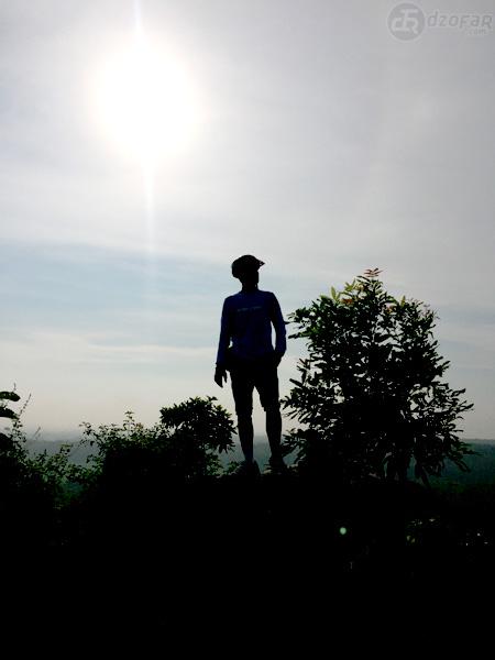 Silhouette di Bukit Cinta