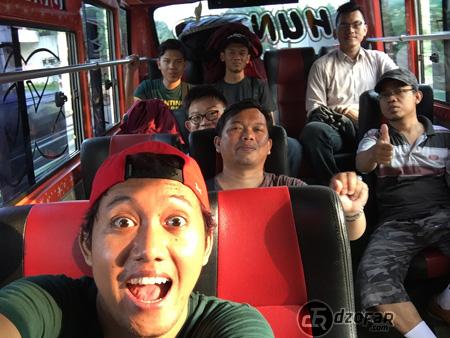 Naik Bus menuju Kalisari