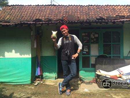 Rumah Pak Suwardi dan Daryati pengusaha kerupuk ampas tahu