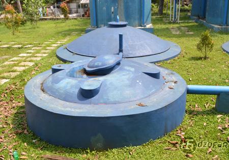 Tangki-tangki biogas