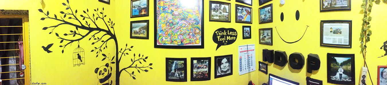 Panorama kamar kuning