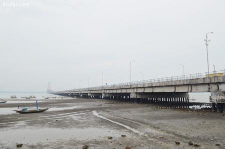Jembatan Suramadu dari Surabaya