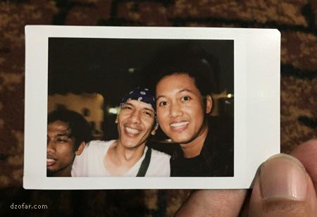 Foto bareng Yuke