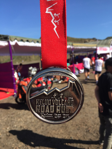 Medali Kelud Volcano Road Run 2016