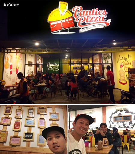 Panties Pizza Kediri