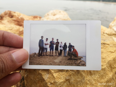 Pantai Nepa in Instan camera