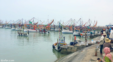 perahu penangkap ikan
