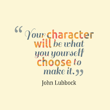your character is