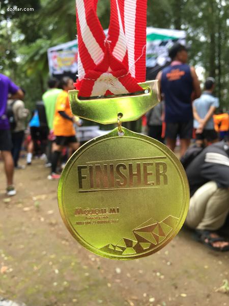 Medali Mojosemi Run