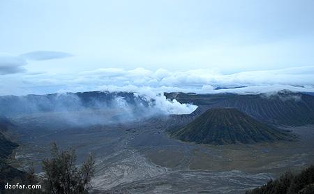 Gunung Batok dan Bromo