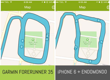 Garmin VS iPhone 6