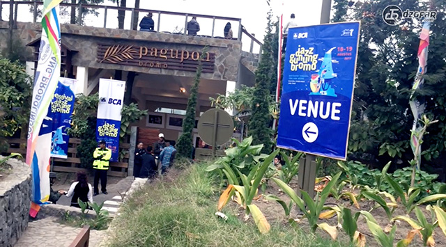 Venue jazz gunung