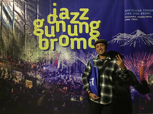 Ndop di Jazz Gunung