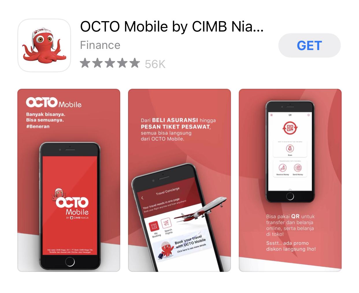 Aplikasi OCTO Mobile