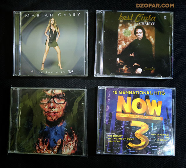 Mariah Carey Infinity, Chrisye - Best Cinta, Bjork - Selmasongs, NOW 3