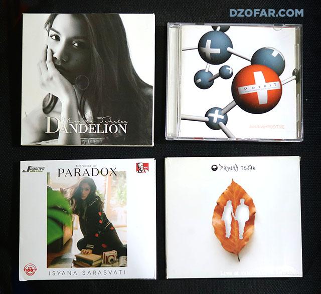 Monita Tahalea - Dandelion, Potret - positive+POSITIVE, Isyana Sarasvati - Paradox, Payung Teduh - Live and Loud