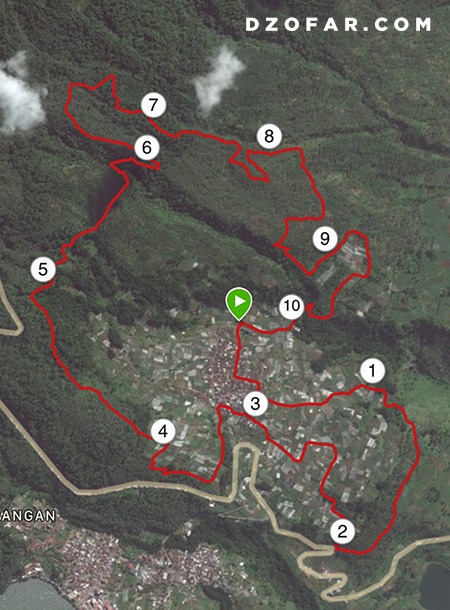race map jam garmin