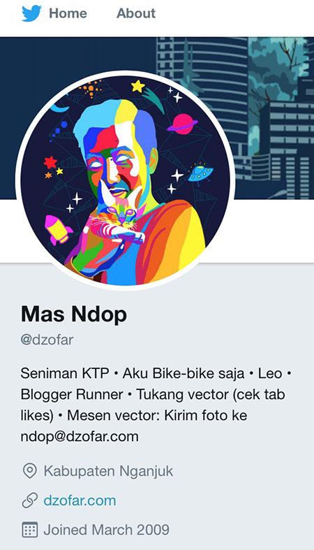 Twitter seniman