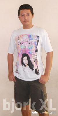 bjork t shirt (kaos)