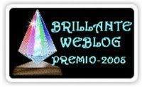 Brilliante Weblog Premio 2008
