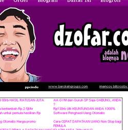 dzofar.com adalah nafasku