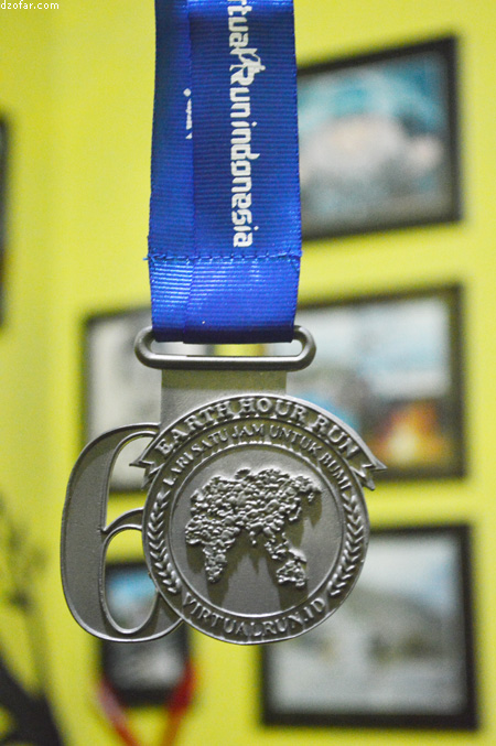 Earth Hour Run 2017 Medals