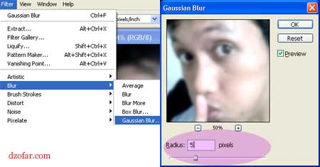 filter, blur, gaussian blur