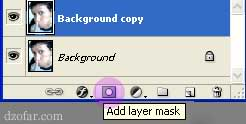 klik layer mask photoshop