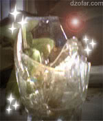 gelas pecah