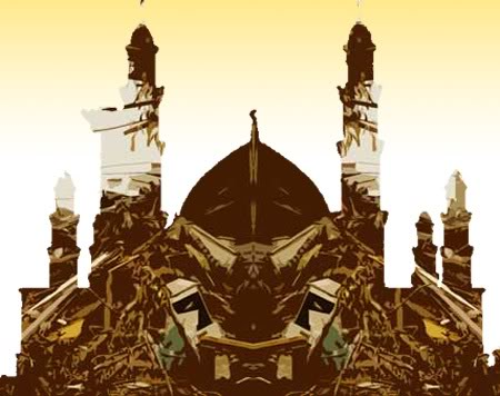 masjid blend gempa