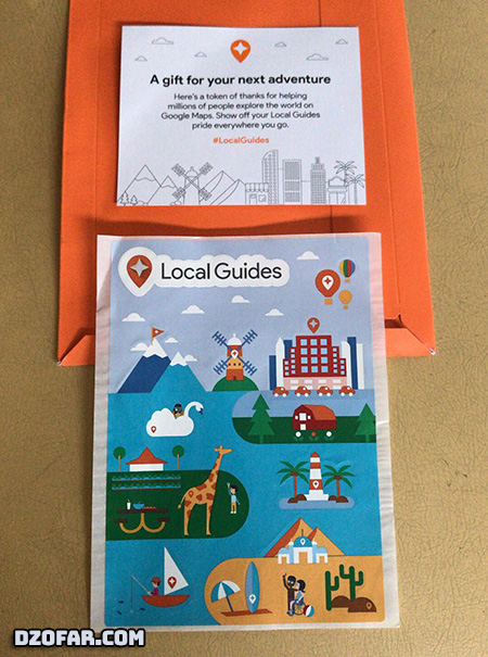 Google Local Guides Stickers