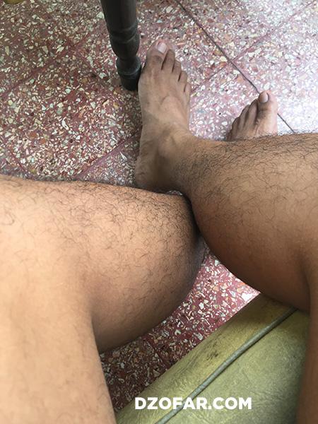 Kaki asli dan kaki meja