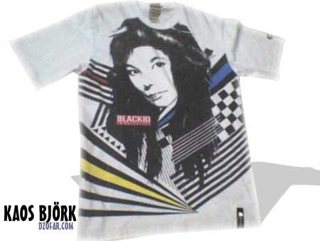 Kaos Björk (merek Black ID)