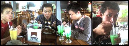 makan bareng di mbah jingkrak