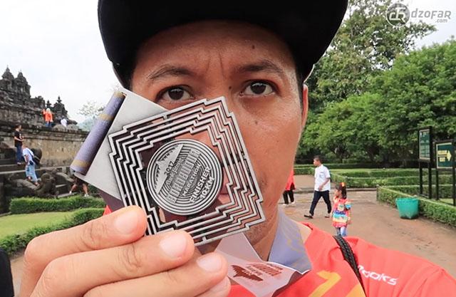 Medali Borobudur Marathon 2017