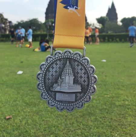 medali Mandiri Jogja Marathon
