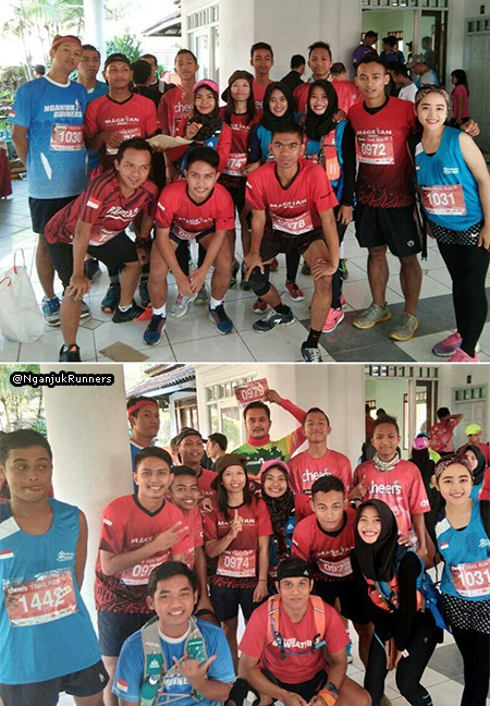 with Nganjuk Runners