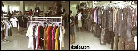 koleksi pakaian mentari lantai 3