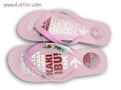 sandal jepit PINK ukuran 41
