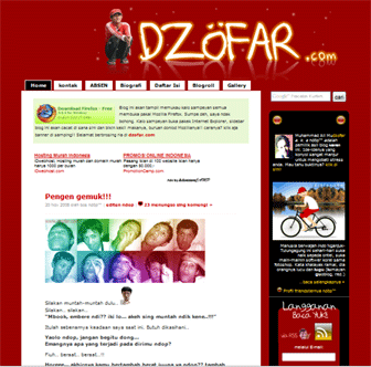 Screenshot dzofar.com